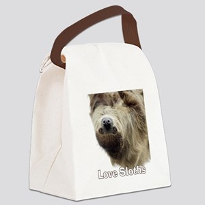Love Sloths Canvas Lunch Bag