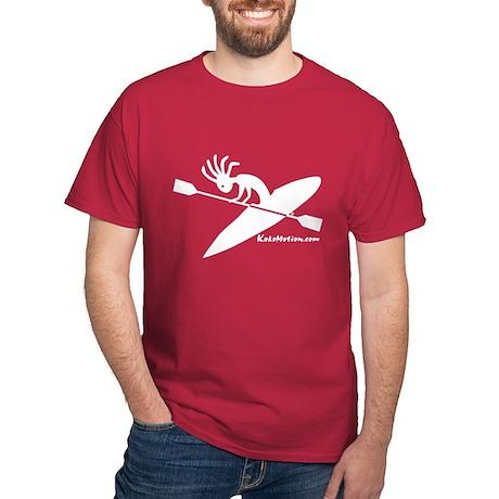 Kokopelli Kayaker Dark T-Shirt