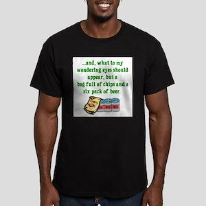 Christmas Poem for Men Ash Grey T-Shirt T-Shirt