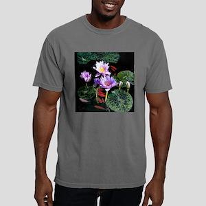 Water Lilies  Fish T-S 1 Mens Comfort Colors Shirt