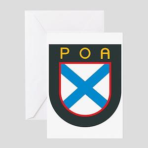 Crest - ROA Greeting Card