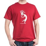 Kokopelli Martini Drinker Dark T-Shirt