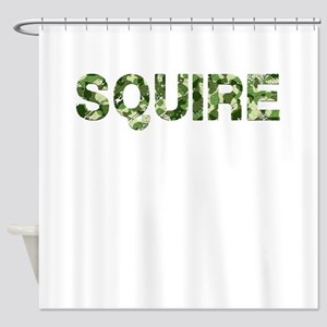 Squire, Vintage Camo, Shower Curtain