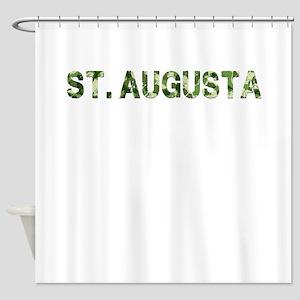 St. Augusta, Vintage Camo, Shower Curtain