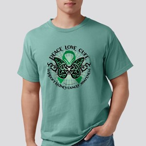 Kidney-Cancer-Butterfly- Mens Comfort Colors Shirt