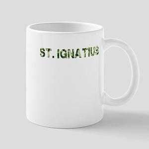 St. Ignatius, Vintage Camo, Mug