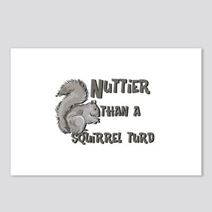 Nuttier Than a Squirrel Turd Postcards (Package of