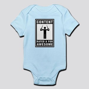 Gymnastic - Still Rings Infant Bodysuit