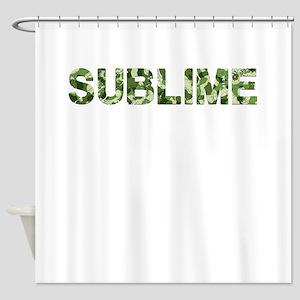 Sublime, Vintage Camo, Shower Curtain