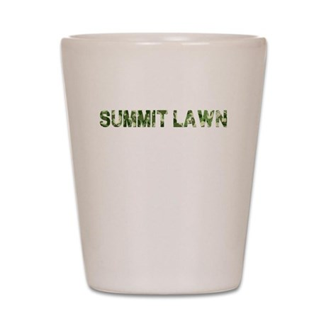 Summit Lawn, Vintage Camo, Shot Glass