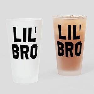 Lil Bro Drinking Glass