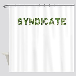Syndicate, Vintage Camo, Shower Curtain