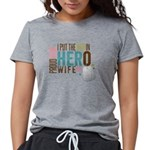 I Put the Her in Hero Pro Womens Tri-blend T-Shirt
