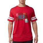 I Put the Her in Hero Proud AR Mens Football Shirt