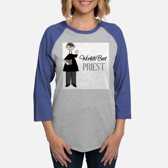 Worlds Best Priest.png Womens Baseball Tee