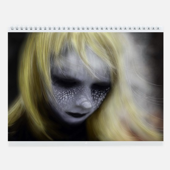 Fantasy Faces Wall Calendar