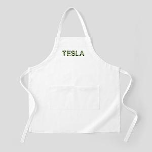 Tesla, Vintage Camo, Apron