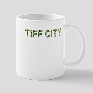 Tiff City, Vintage Camo, Mug
