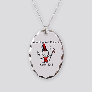Drum Major - Kevin Necklace Oval Charm
