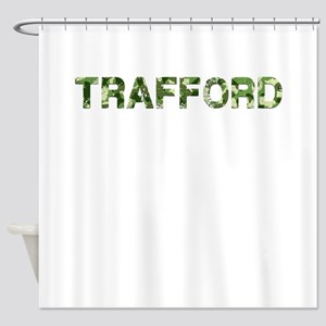 Trafford, Vintage Camo, Shower Curtain