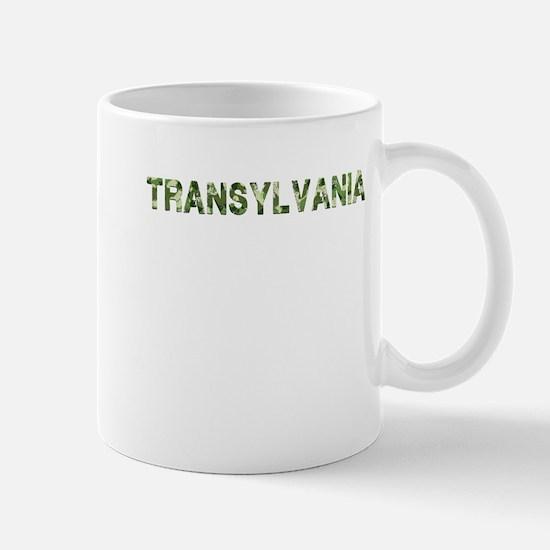 Transylvania, Vintage Camo, Mug