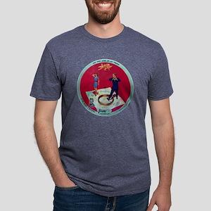 VogueRecordTearItDown Mens Tri-blend T-Shirt