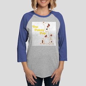 Pup.Tshirt.Front.5 Womens Baseball Tee