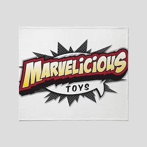 Marvelicious Logo Throw Blanket