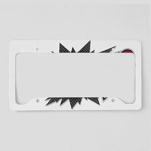 Marvelicious Logo License Plate Holder