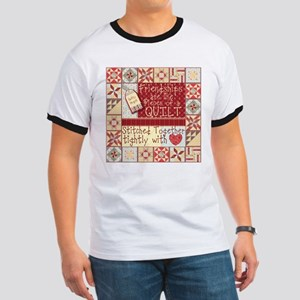 Friendships Are Like Quilts Ringer T