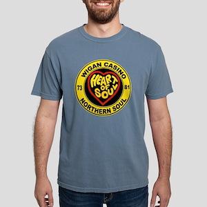 Wigan casino heart and s Mens Comfort Colors Shirt