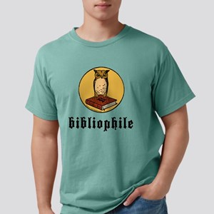 Bibliophile Logo w/ text Mens Comfort Colors Shirt