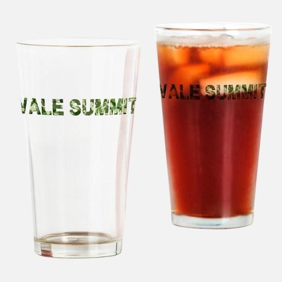 Vale Summit, Vintage Camo, Drinking Glass