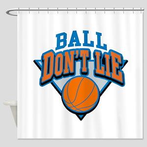 Ball Dont Lie Shower Curtain