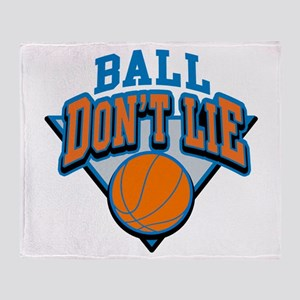 Ball Dont Lie Throw Blanket