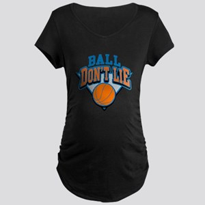 Ball Dont Lie Maternity Dark T-Shirt