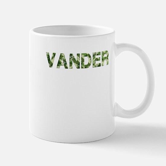 Vander, Vintage Camo, Mug