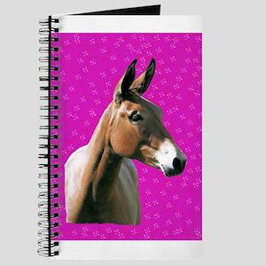 Pink mule head Journal