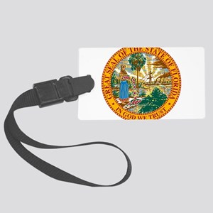 Great Seal of Florida Large Luggage Tag