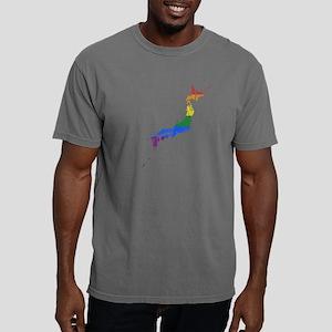 Gay Pride Flag Japan Woo Mens Comfort Colors Shirt