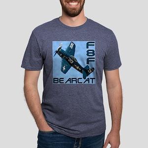 F8F Bearcat Mens Tri-blend T-Shirt