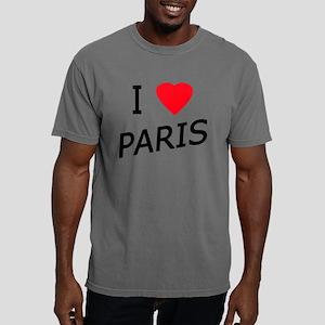 I Love PARIS 1 copy Mens Comfort Colors Shirt