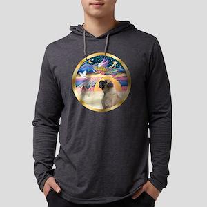 W-XmasStar-BullMastiff7 Mens Hooded Shirt