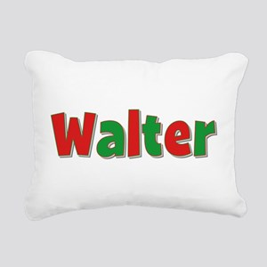 Walter Christmas Rectangular Canvas Pillow