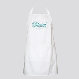 Blessed & Highly Favored BBQ Apron