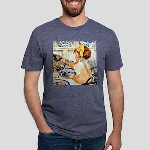 Breakfast Buddies_SQ Mens Tri-blend T-Shirt