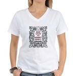 Keep Calm and Marry Darcy Women's V-Neck T-Shirt
