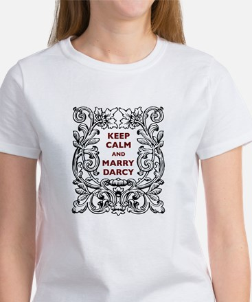 Keep Calm and Marry Darcy Women's T-Shirt