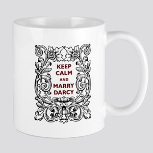 Keep Calm and Marry Darcy Mug