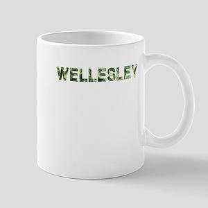 Wellesley, Vintage Camo, Mug